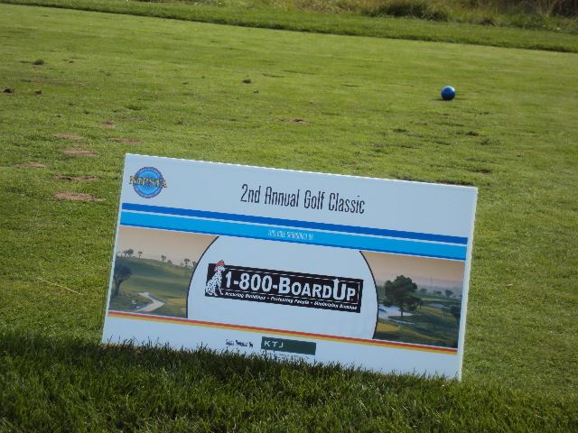 2nd Annual Golf Classic 1 800 Board Up