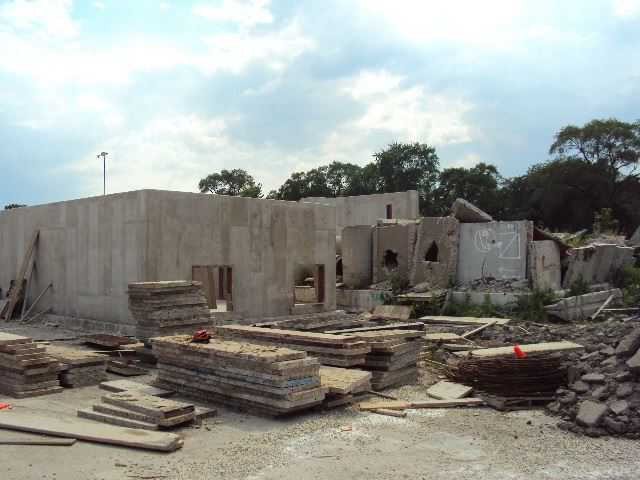 Cement Building in Construction
