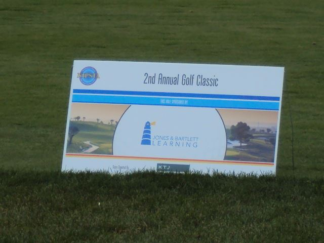 2nd Annual Golf Classic, Jones and Barlett Learning